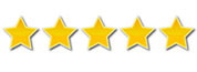 Five star rating image